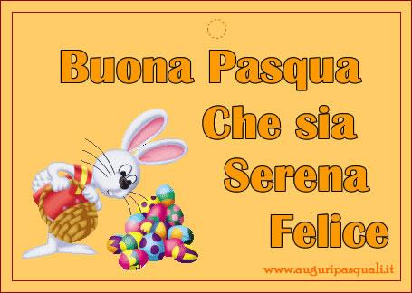 Biglietto Pasqua