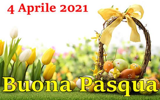 Auguri Di Pasqua 2021